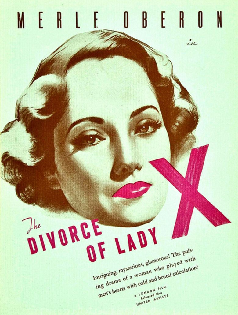 The Divorce of Lady X movie poster