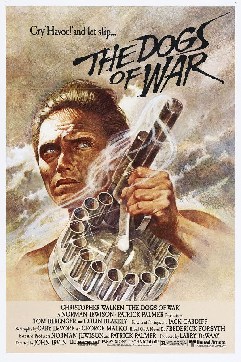 The Dogs of War (film) movie poster