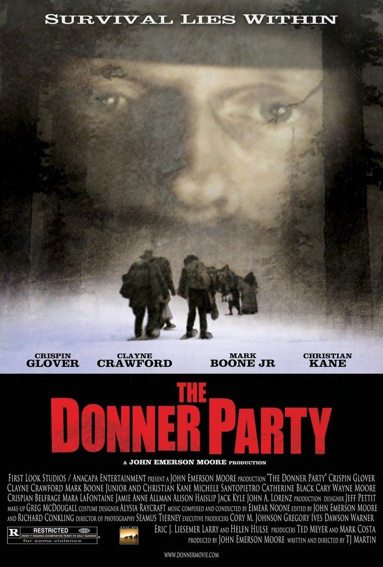 The Donner Party (2009 film) movie poster