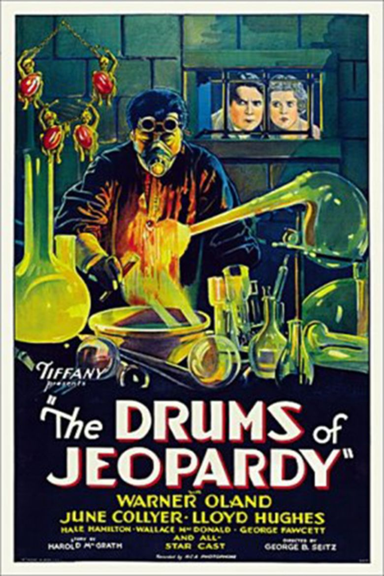 The Drums of Jeopardy (1931 film) movie poster
