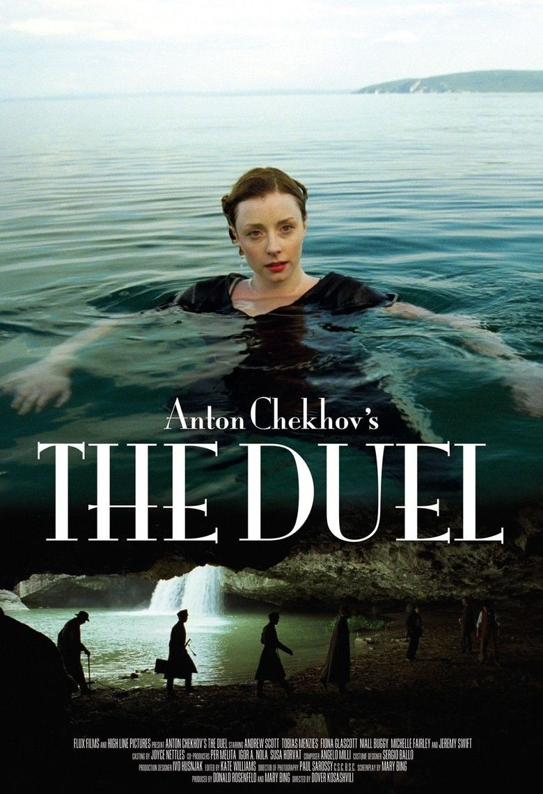 The Duel (2010 film) movie poster