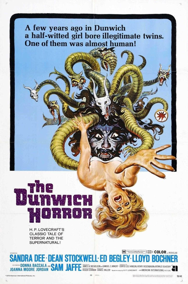 The Dunwich Horror (film) movie poster