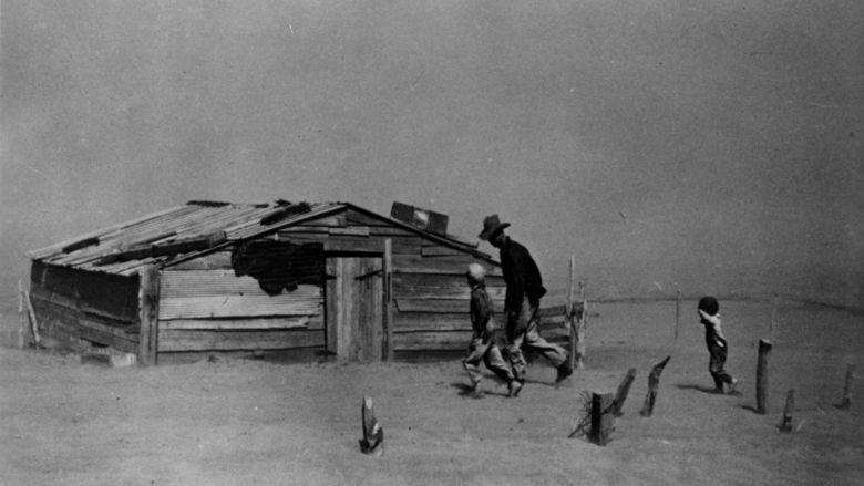 The Dust Bowl (film) movie scenes