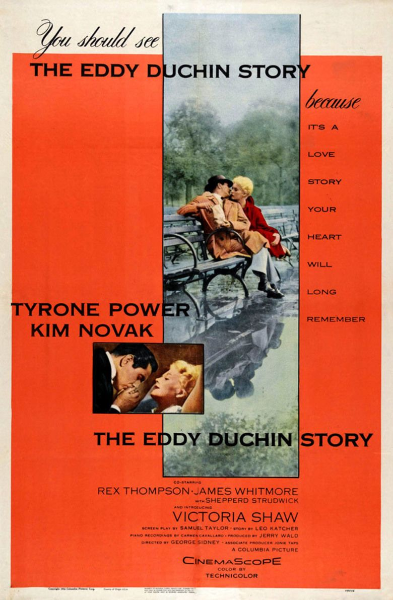 The Eddy Duchin Story movie poster