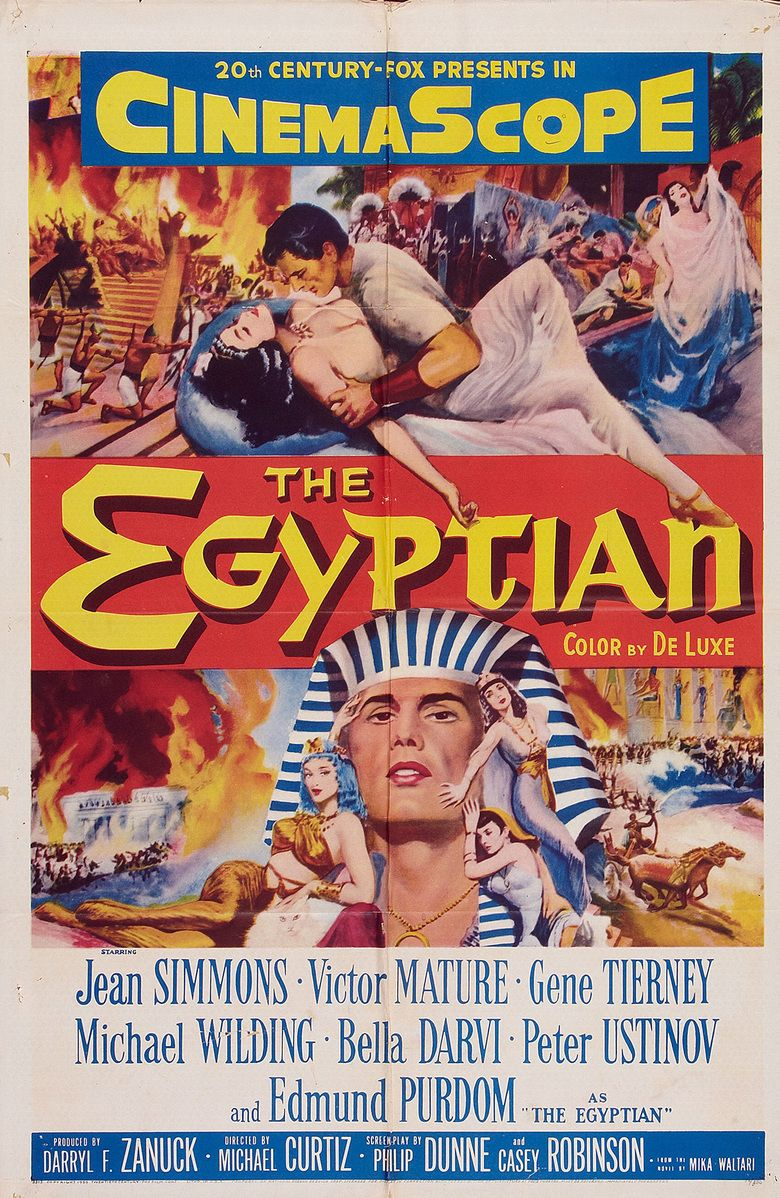The Egyptian (film) movie poster