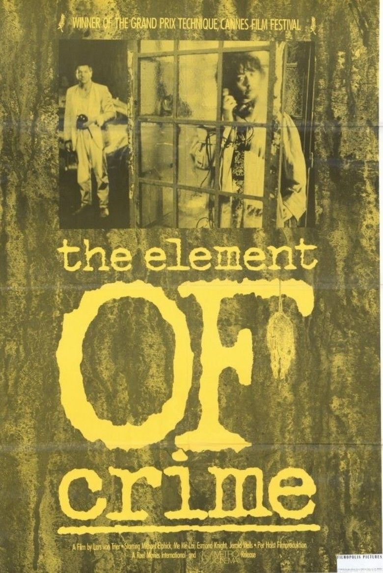 The Element of Crime movie poster