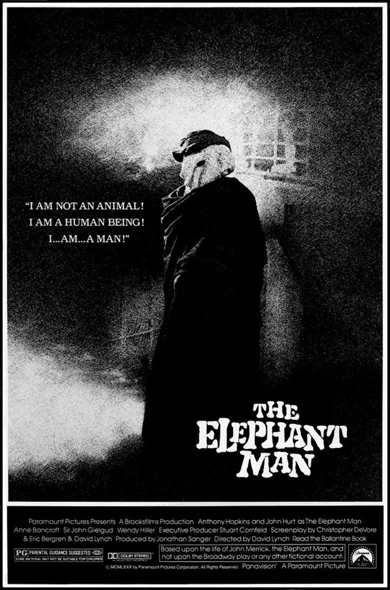 The Elephant Man (film) movie poster