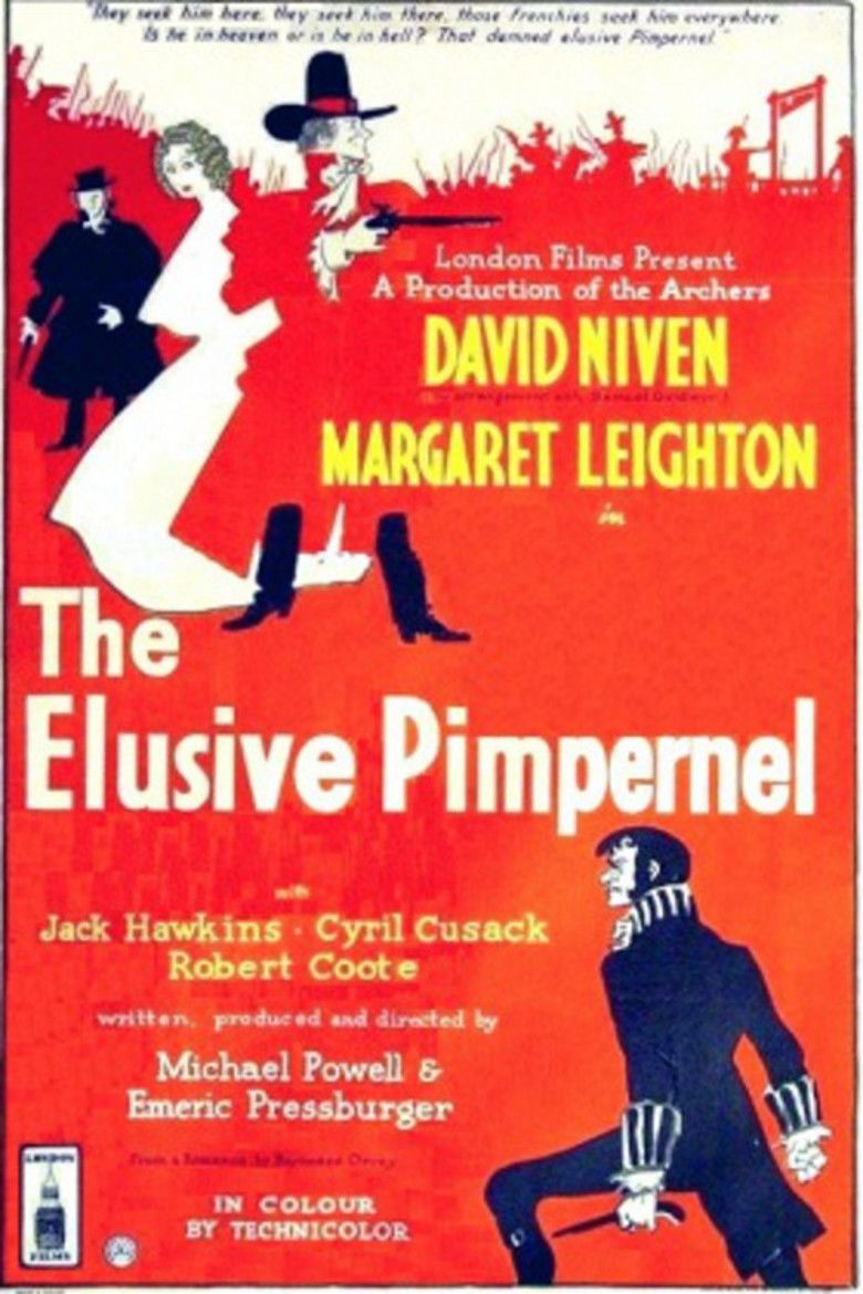 The Elusive Pimpernel movie poster