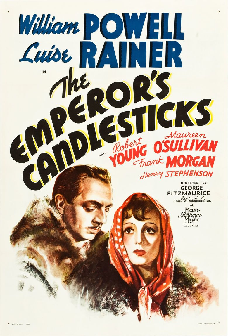 The Emperors Candlesticks (film) movie poster
