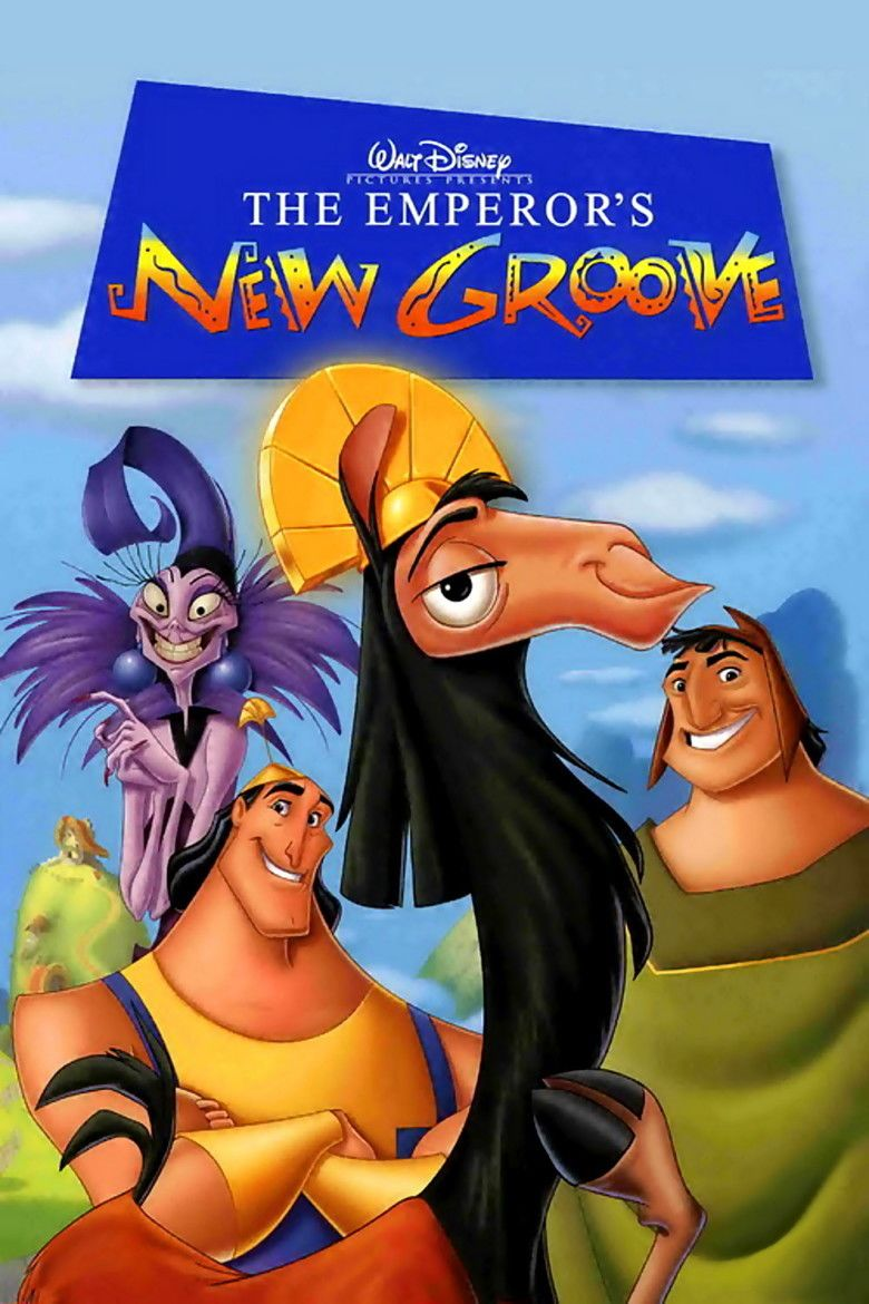 The Emperors New Groove movie poster