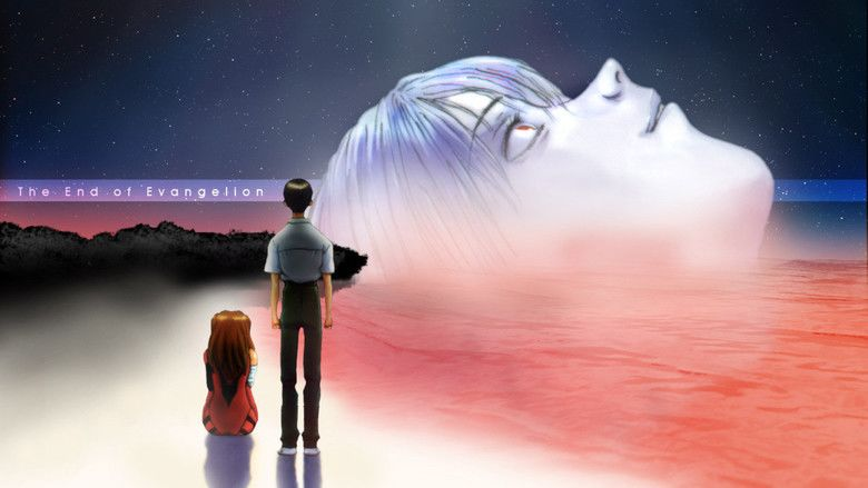The End of Evangelion movie scenes