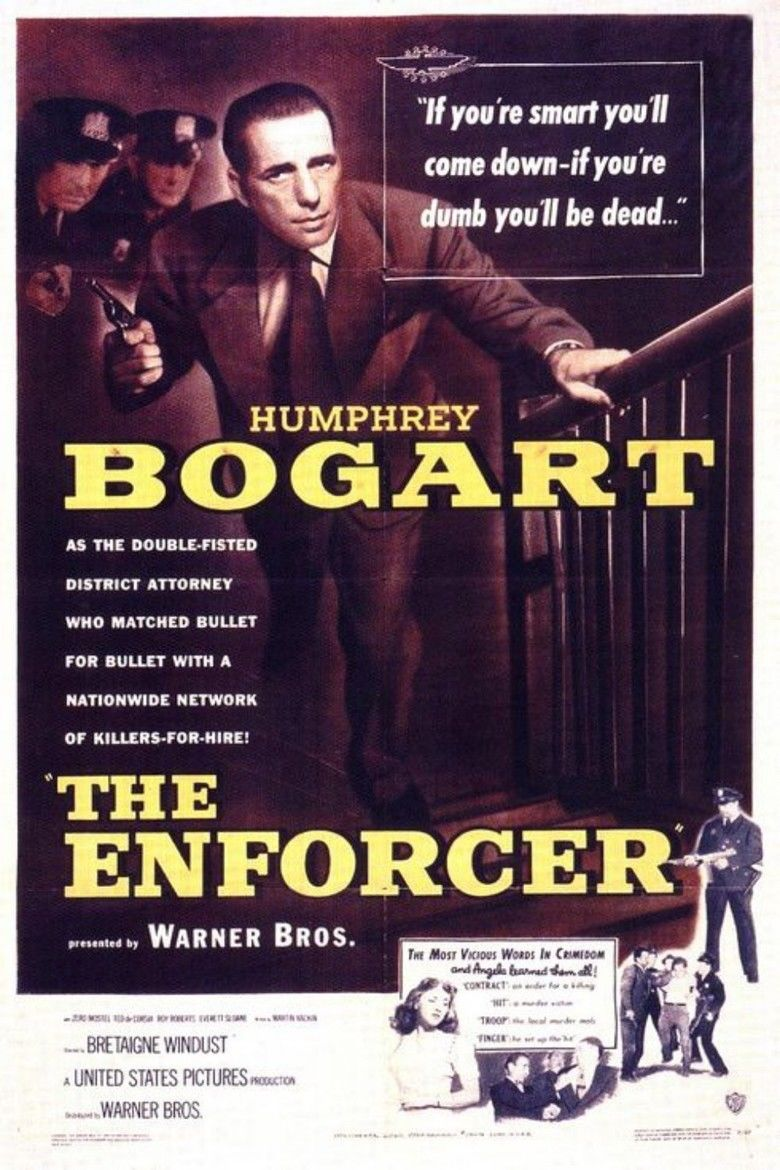 The Enforcer (1951 film) movie poster