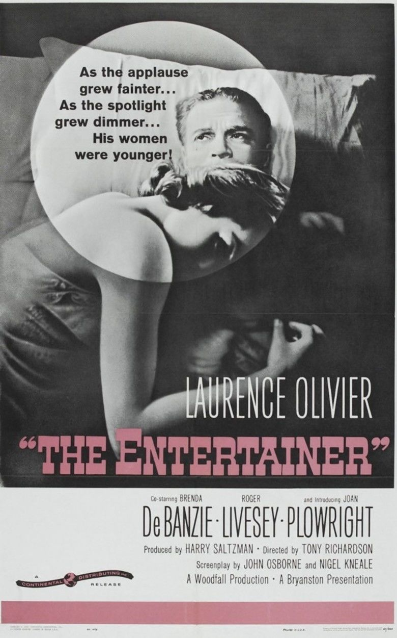 The Entertainer (film) movie poster