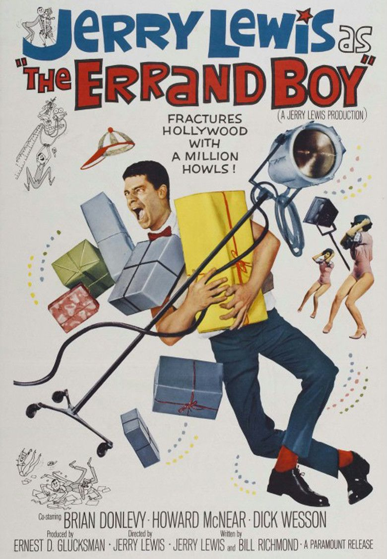 The Errand Boy movie poster