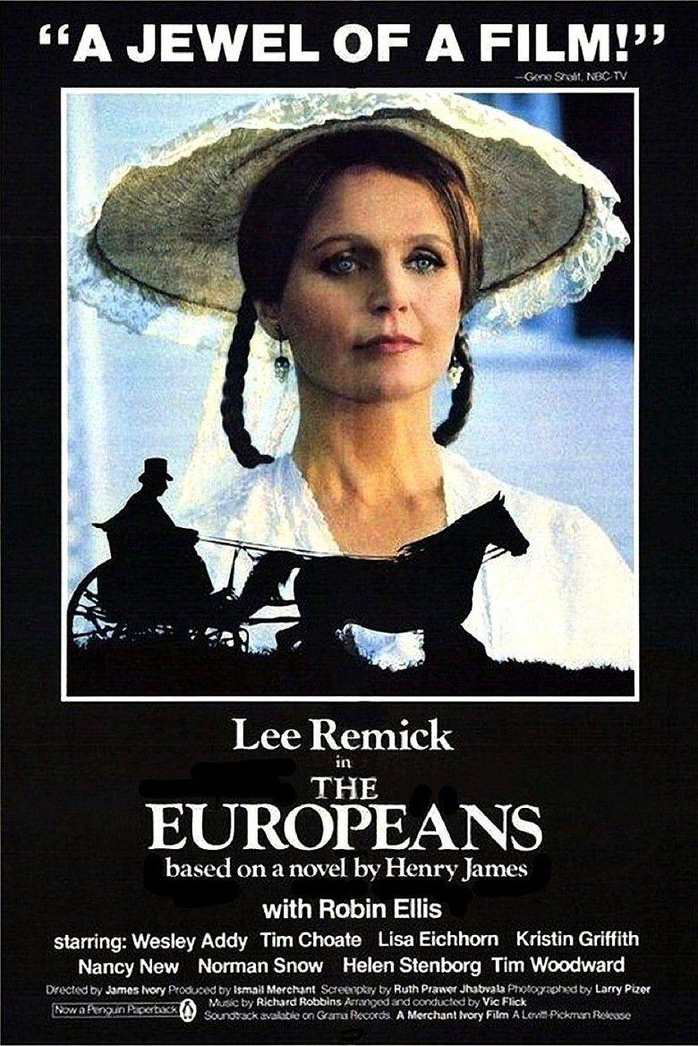 The Europeans (film) movie poster