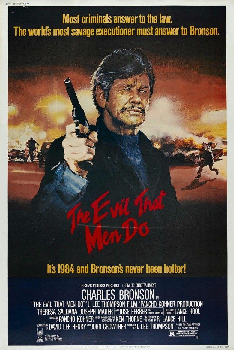 The Evil That Men Do (film) movie poster