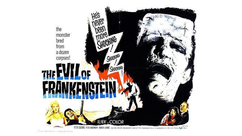 The Evil of Frankenstein movie scenes