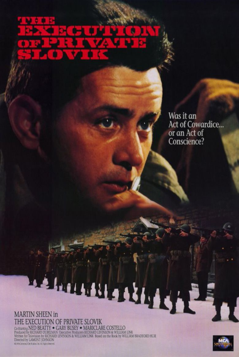 The Execution of Private Slovik movie poster