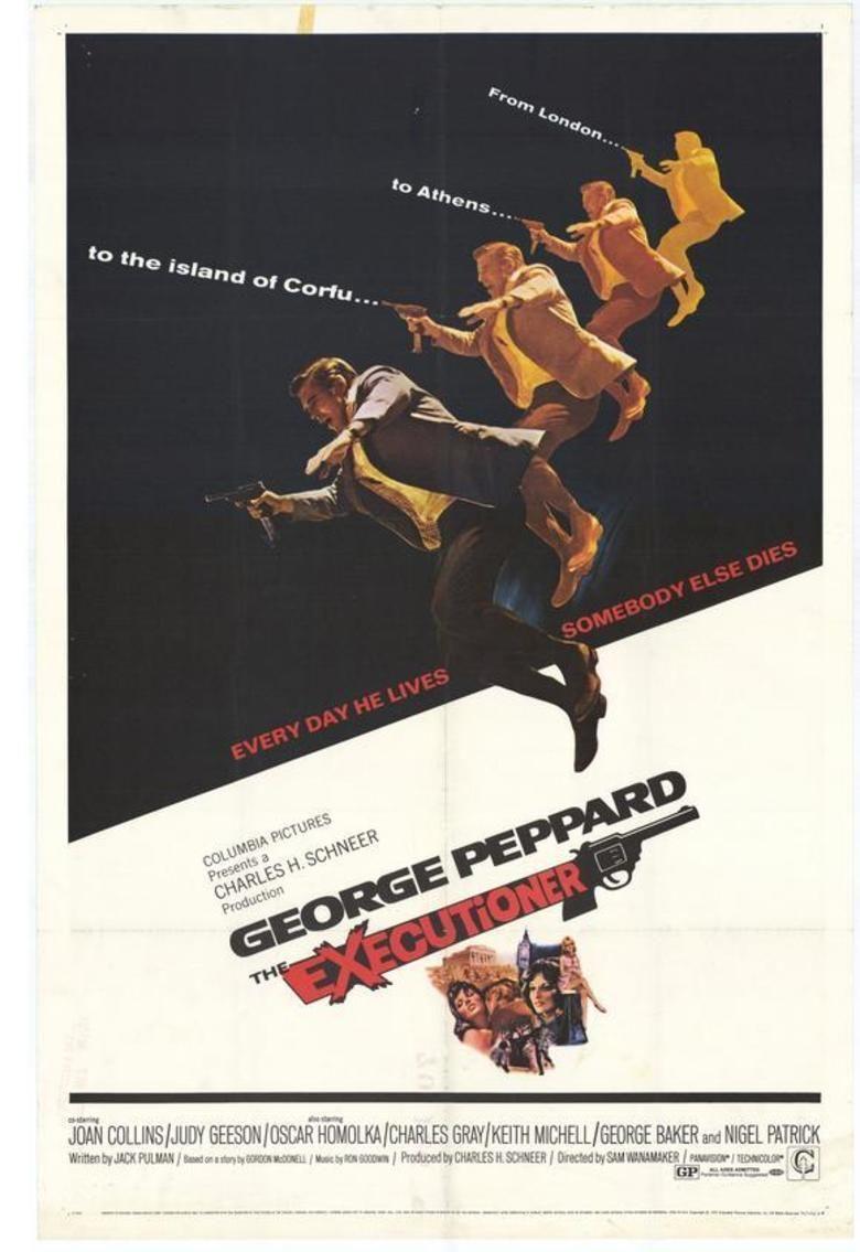 The Executioner (1970 film) movie poster