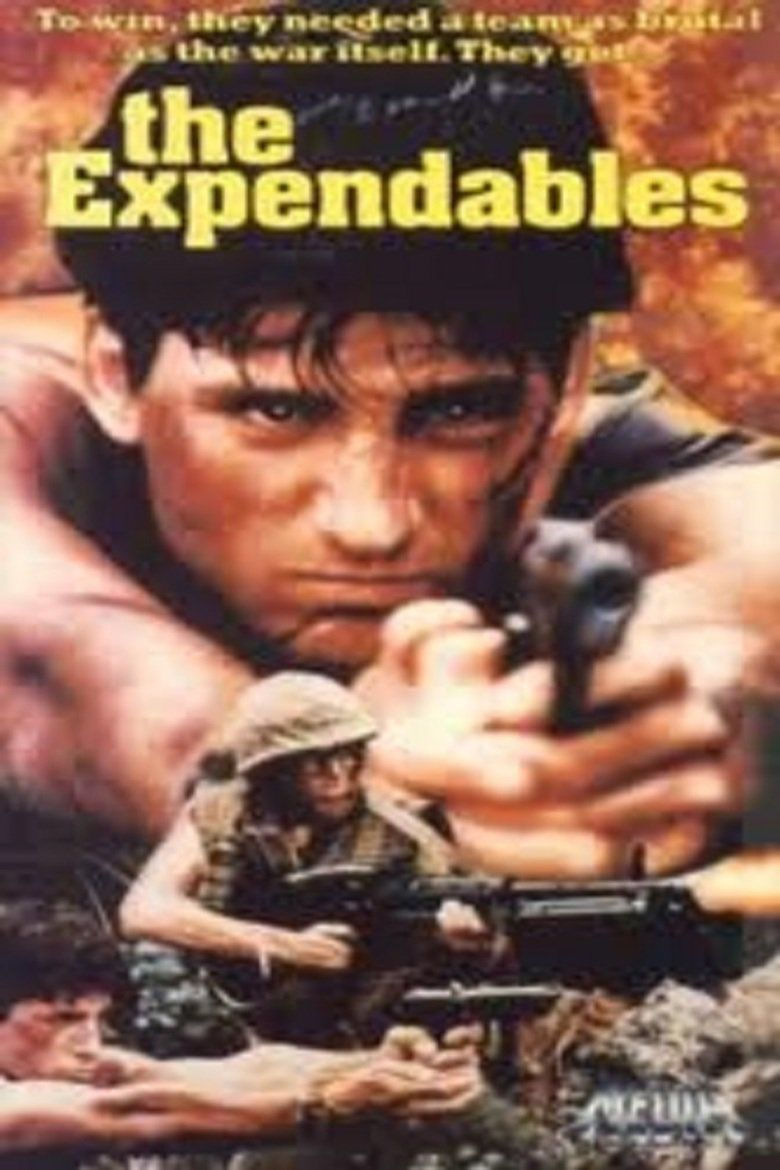 The Expendables (1989 film) movie poster