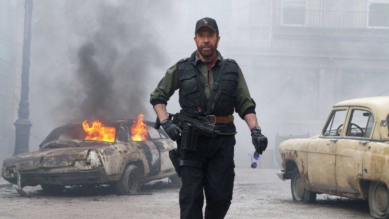 The Expendables 2 movie scenes