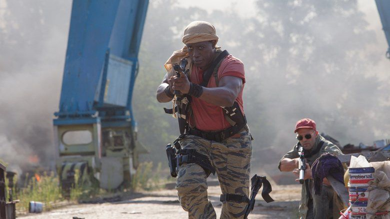 The Expendables 3 movie scenes