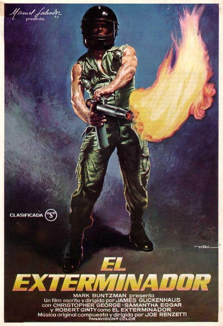 The Exterminator movie poster