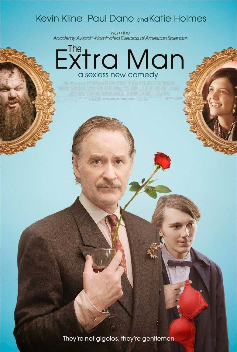 The Extra Man (film) movie poster