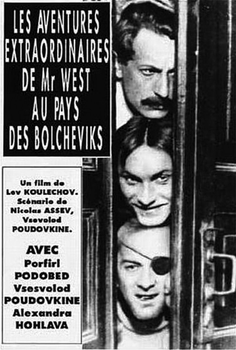 The Extraordinary Adventures of Mr West in the Land of the Bolsheviks movie poster