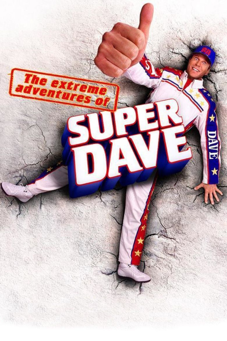 The Extreme Adventures of Super Dave movie poster