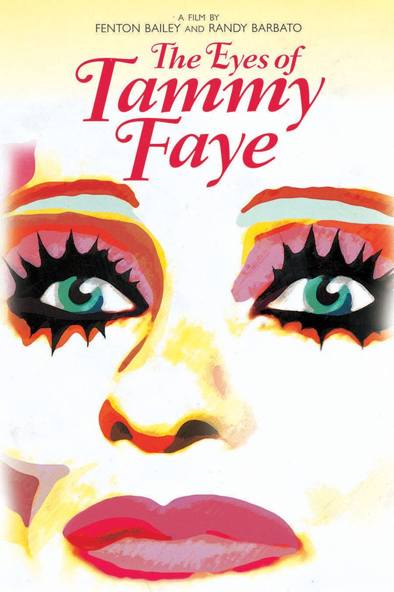The Eyes of Tammy Faye movie poster