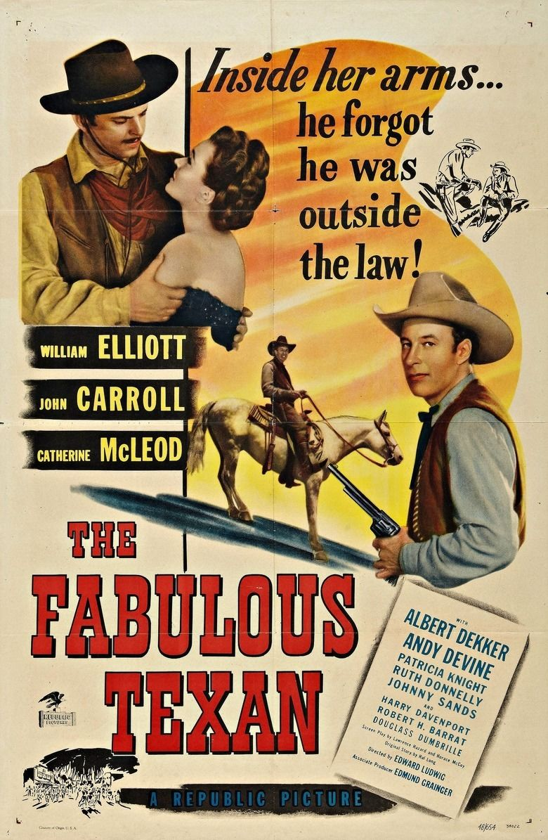 The Fabulous Texan movie poster