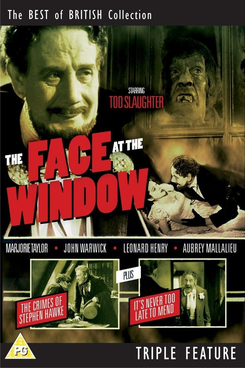 The Face at the Window (1939 film) movie poster