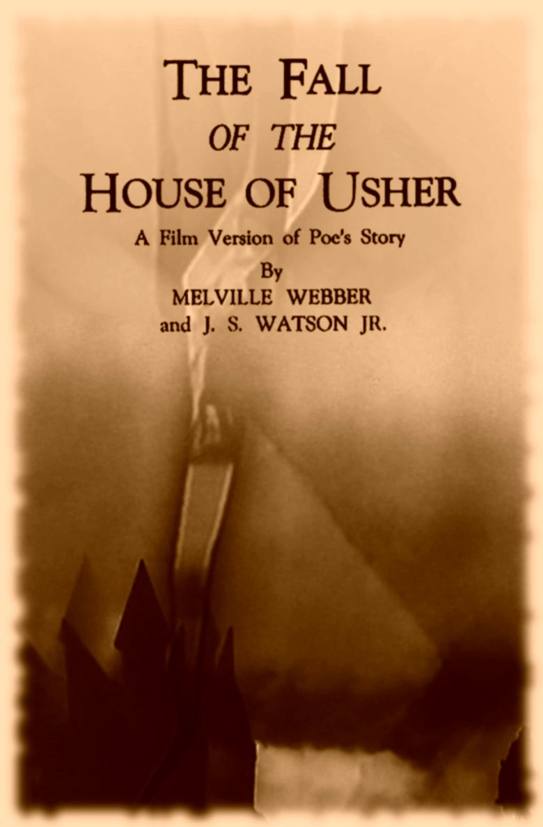 The Fall of the House of Usher (1928 American film) movie poster
