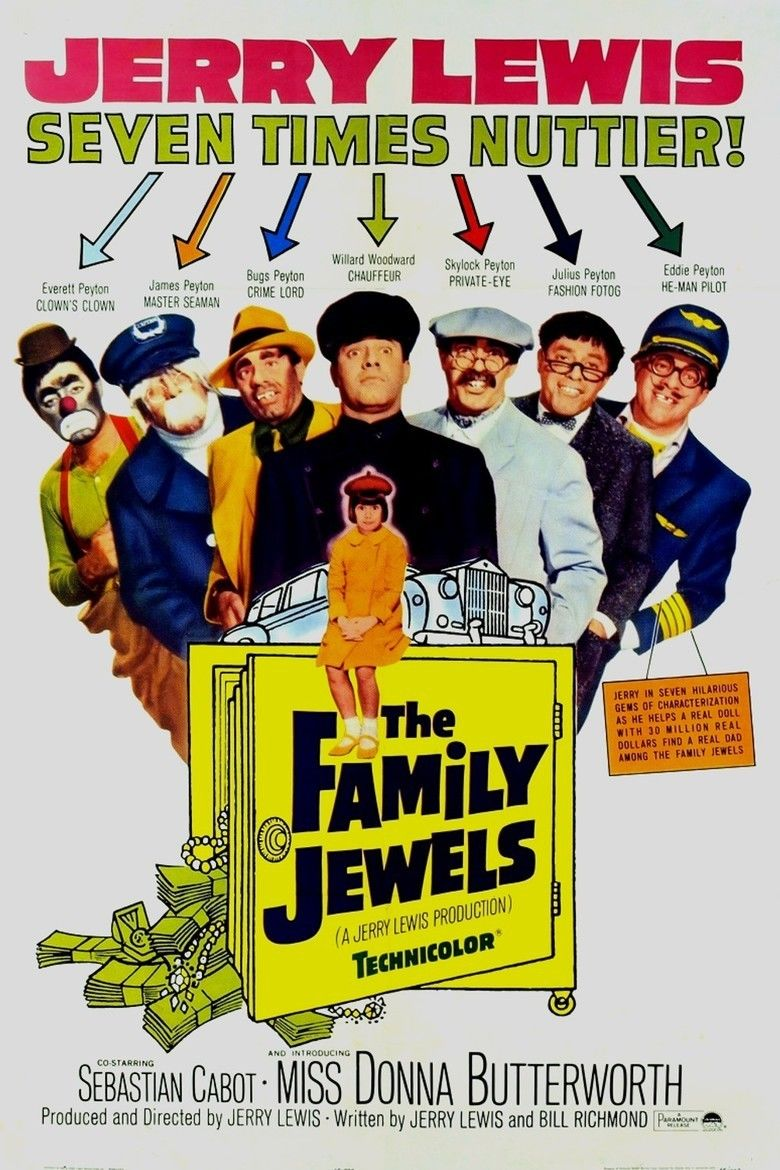 The Family Jewels (film) movie poster