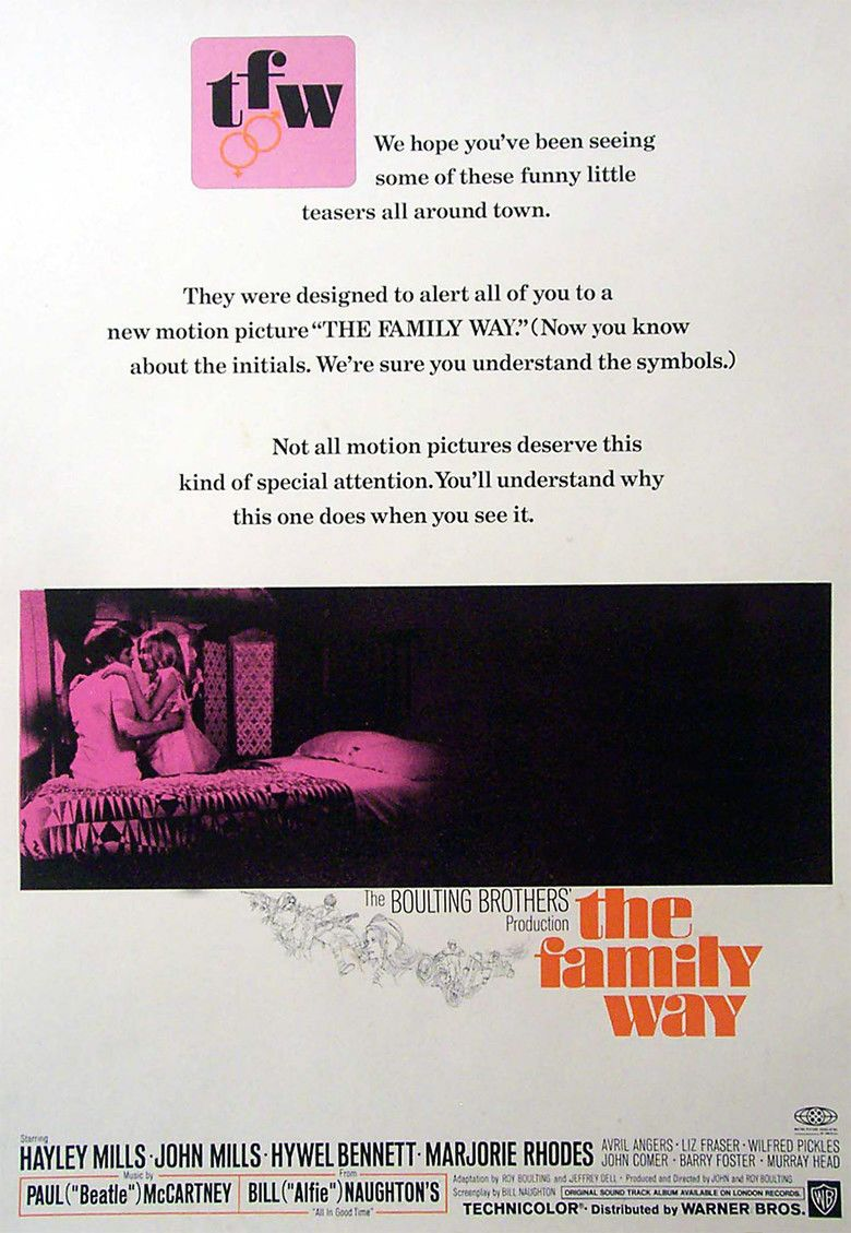 The Family Way movie poster