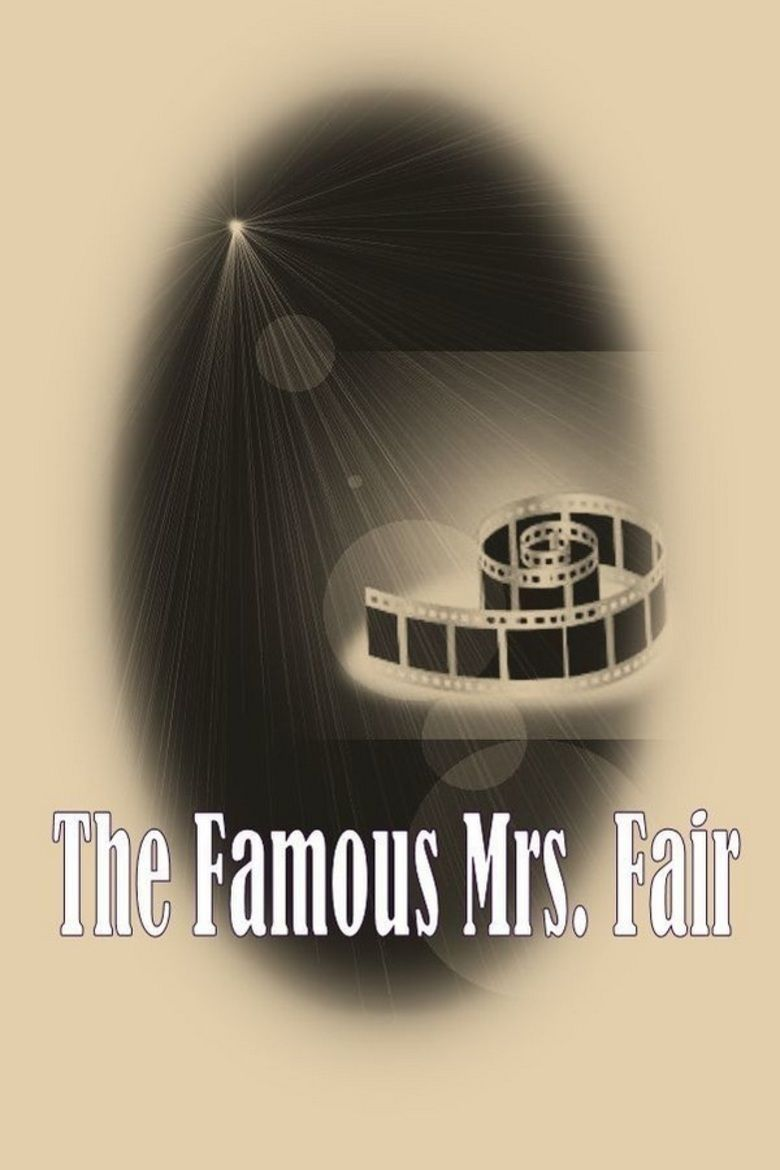 The Famous Mrs Fair movie poster