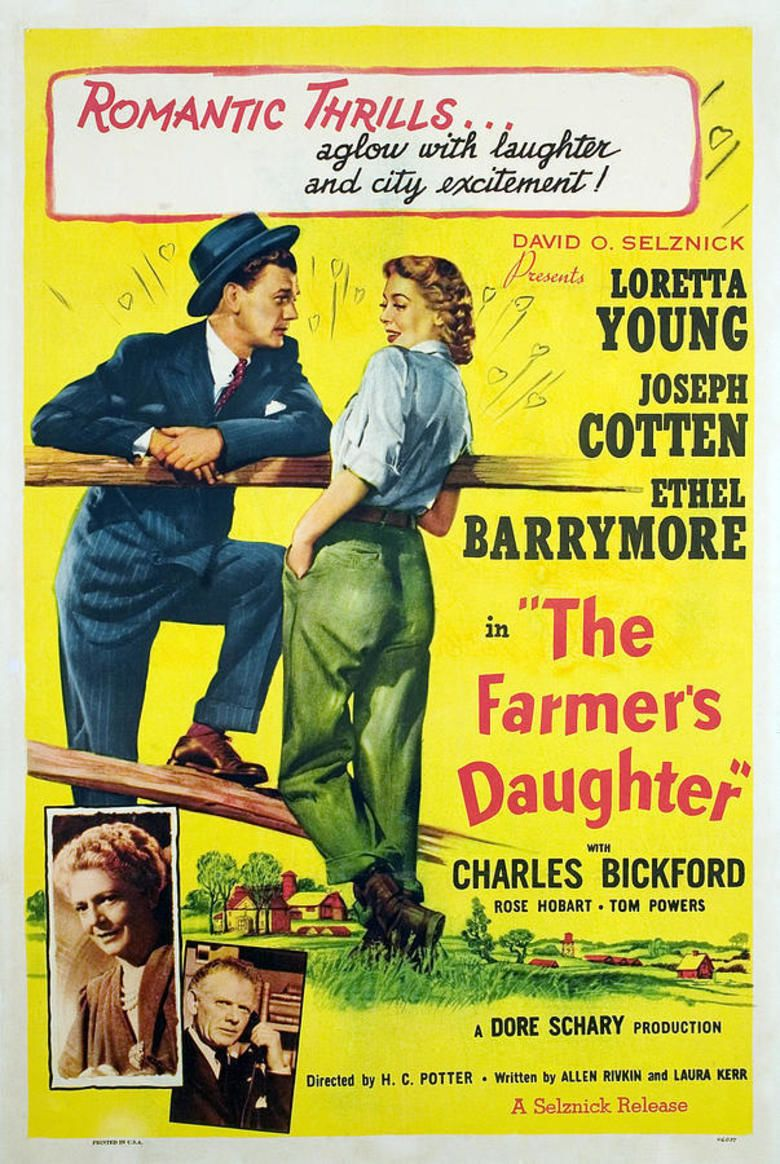 The Farmers Daughter (1947 film) movie poster