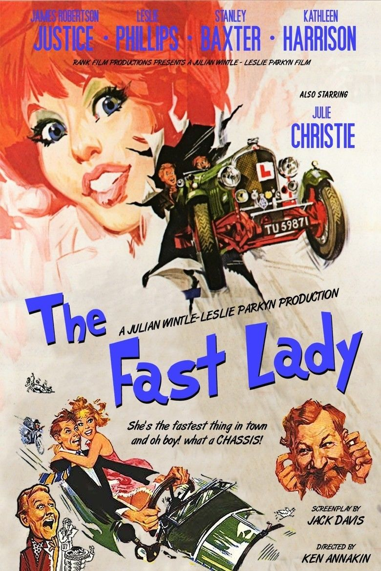 The Fast Lady movie poster
