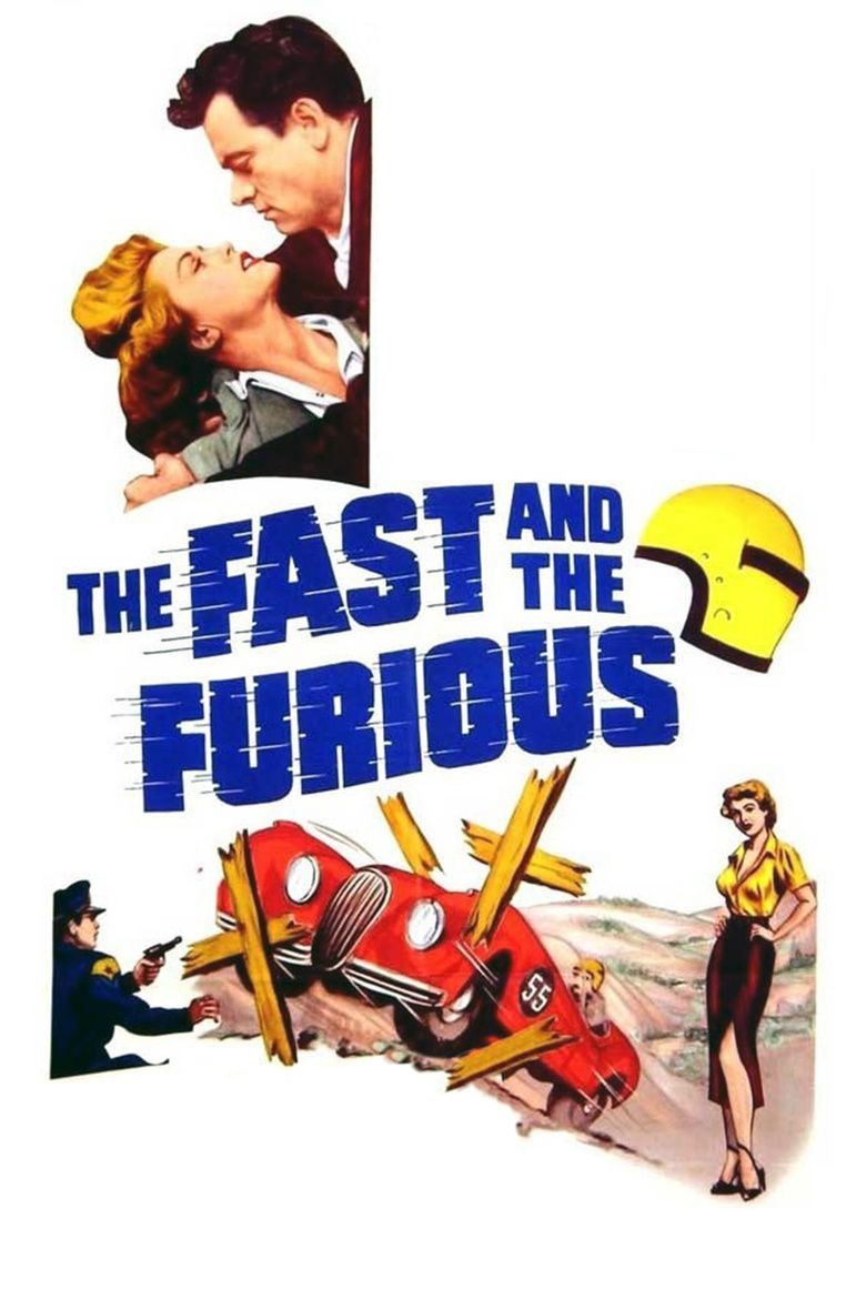 The Fast and the Furious (1955 film) movie poster