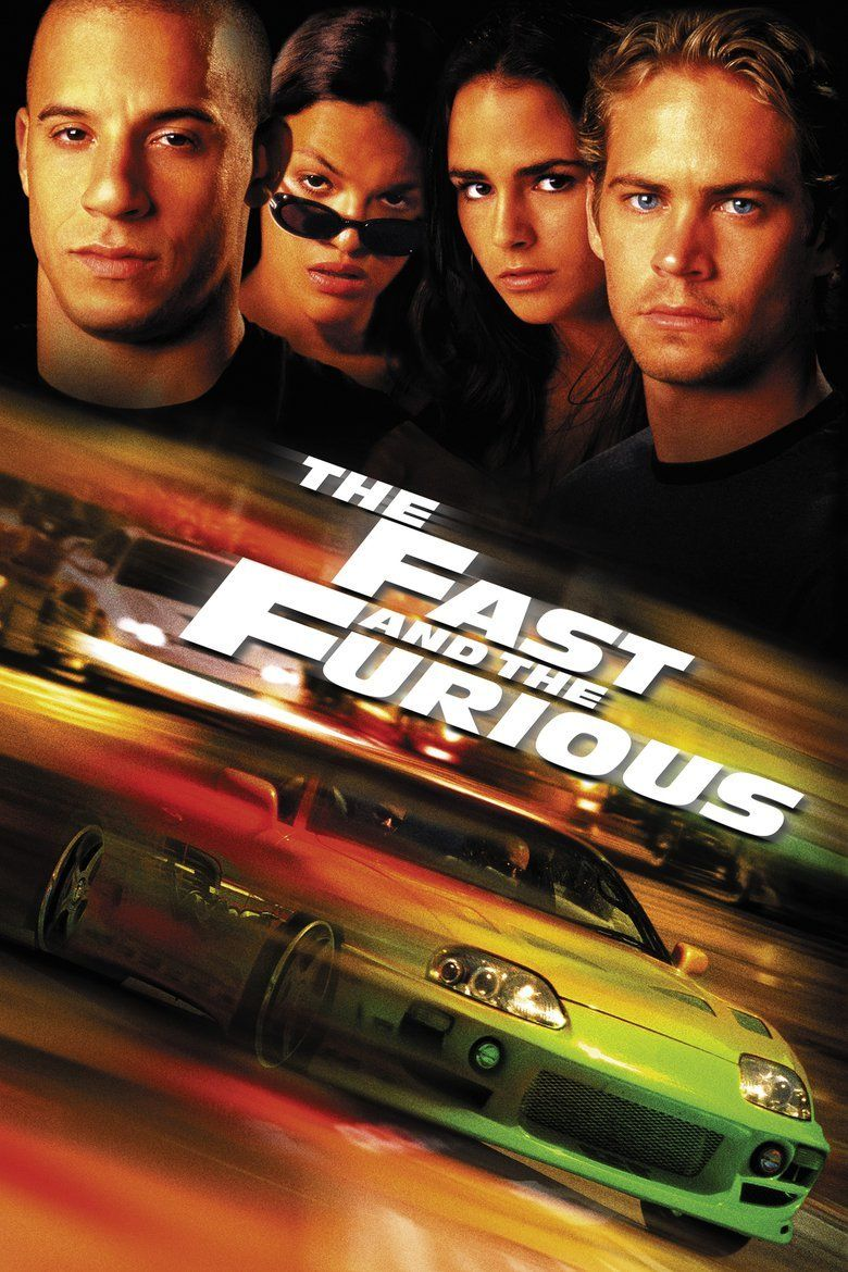 The Fast and the Furious (2001 film) movie poster