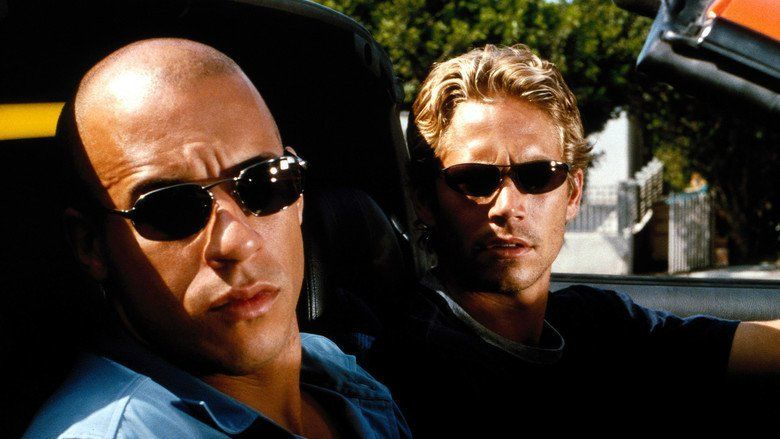The Fast and the Furious movie scenes