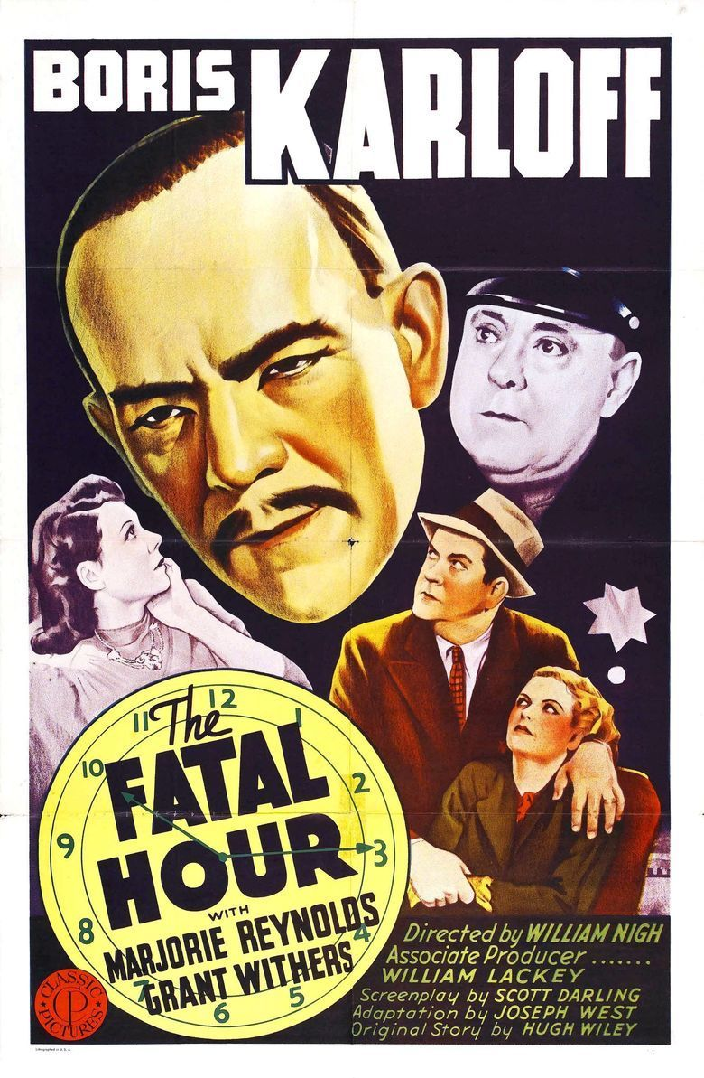 The Fatal Hour (1940 film) movie poster