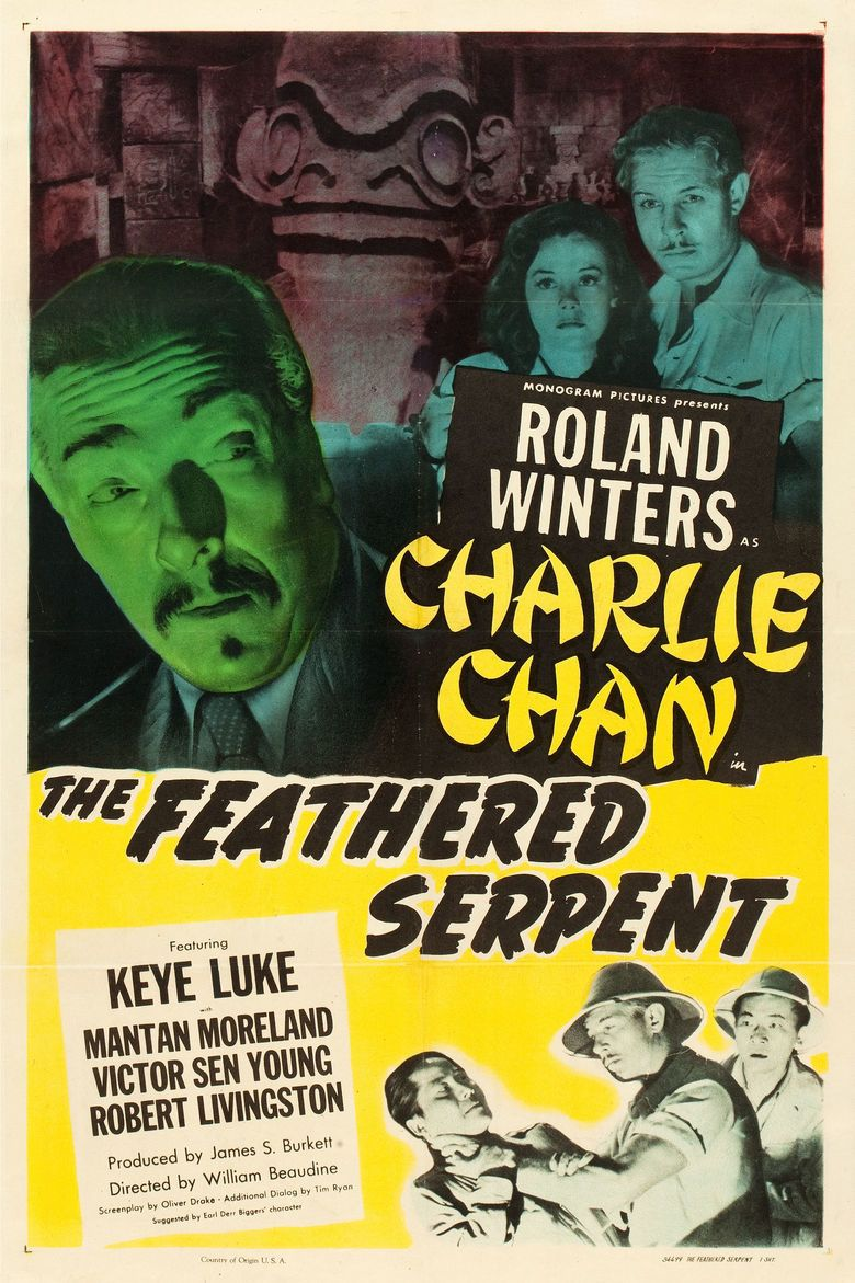 The Feathered Serpent (1948 film) movie poster