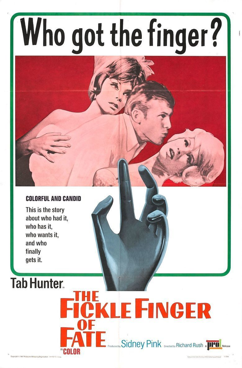 The Fickle Finger of Fate movie poster
