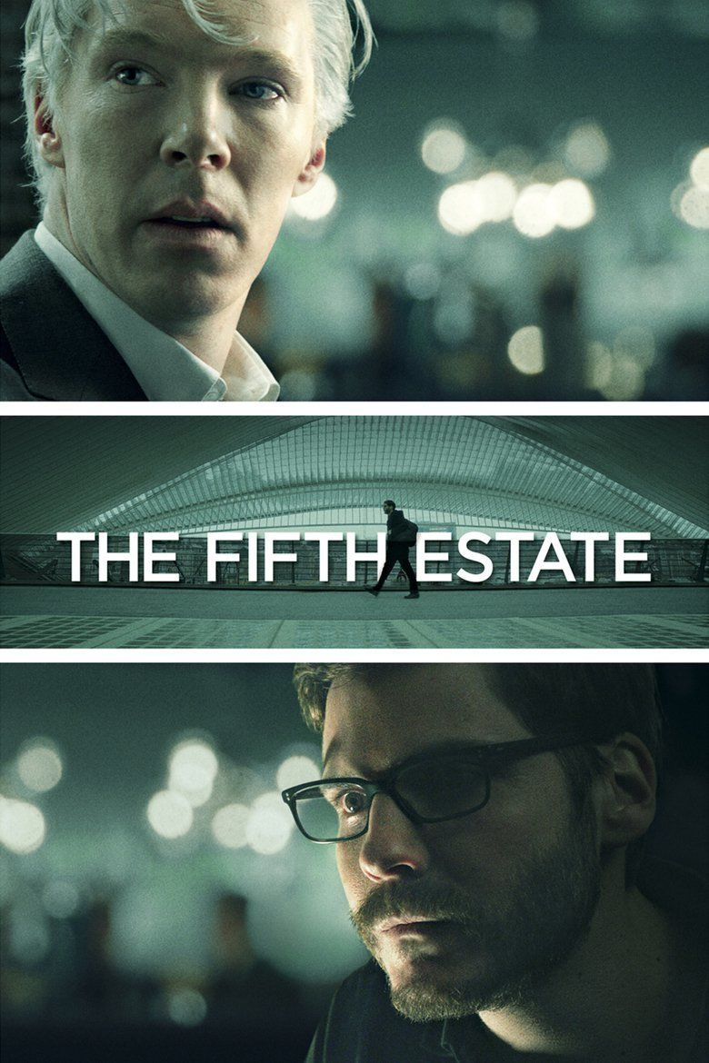 The Fifth Estate (film) movie poster