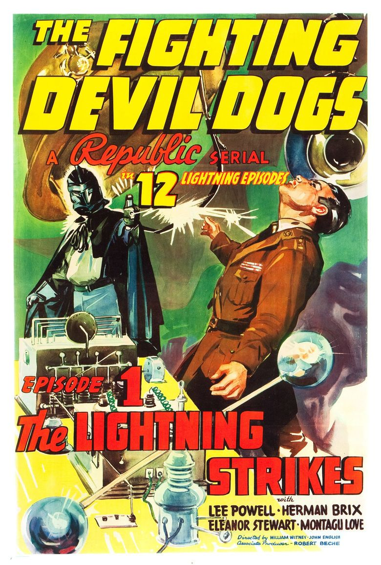 The Fighting Devil Dogs movie poster