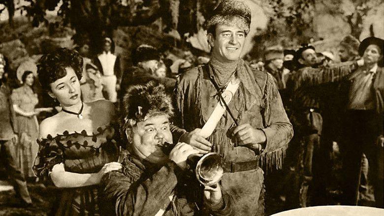 The Fighting Kentuckian movie scenes