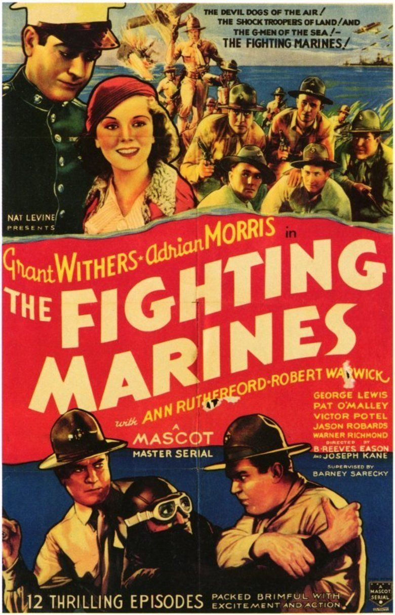 The Fighting Marines movie poster