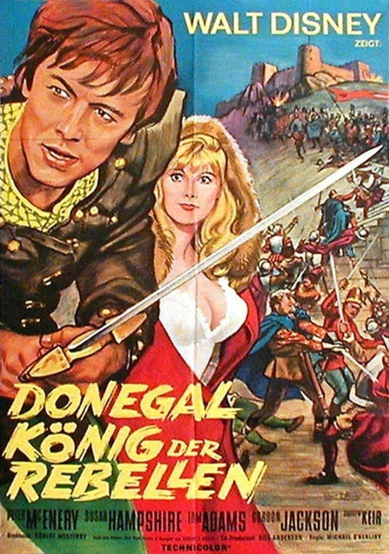 The Fighting Prince of Donegal movie poster